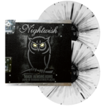 NIGHTWISH - Made In Hong Kong (White w/Black Splatter)