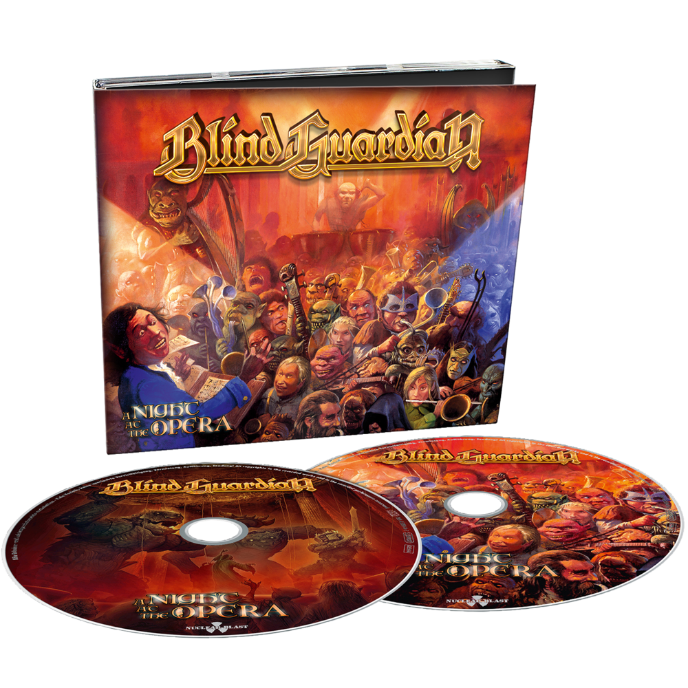 BLIND GUARDIAN - A NIGHT AT THE OPERA [DIGI 2CD REMIXED / REMASTERED + BONUS TRACKS] (2019)