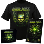 OVERKILL - The Wings Of War CD+Small TS Bundle