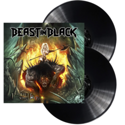 BEAST IN BLACK - From hell with love BLACK VINYL (Import)