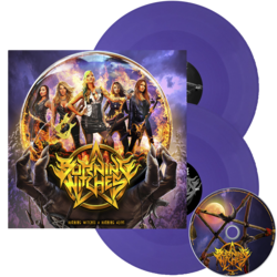 BURNING WITCHES - Burning witches + Burning alive LILAC LP (Import)
