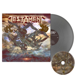 TESTAMENT - The Formation Of Damnation SILVER VINYL (Import)
