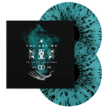 WHILE SHE SLEEPS - You Are We Electric Blue SPLATTER