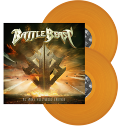BATTLE BEAST No More Hollywood Endings ORANGE VINYL (Import)