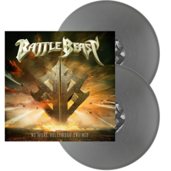 BATTLE BEAST No More Hollywood Endings SILVER VINYL