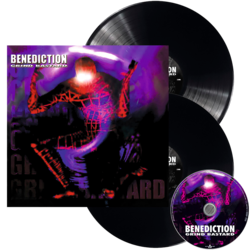 BENEDICTION - Grind Bastard BLACK VINYL (Import)