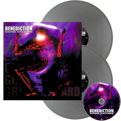 BENEDICTION - Grind Bastard SILVER VINYL (Import)