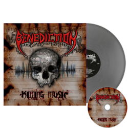 BENEDICTION - Killing Music SILVER VINYL (EURO IMPORT)