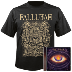 FALLUJAH - Undying Light (CD+T-Shirt Bundle)