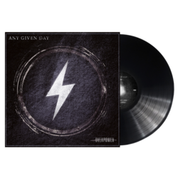 ANY GIVEN DAY - Overpower BLACK VINYL (Import)