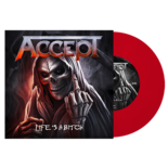 ACCEPT - Life´s A Bitch RED VINYL (Import)