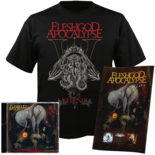 FLESHGOD APOCALYPSE - Veleno CD+TS X-Large Bundle