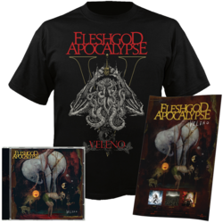 FLESHGOD APOCALYPSE - Veleno CD+TS XX-Large Bundle