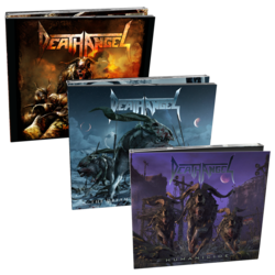 DEATH ANGEL - Wolf Trilogy CD Bundle