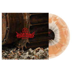 THY ART IS MURDER - Human Target (Orange/Bone Swirl)