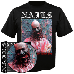 """NAILS - I Don't Want To Know You (7""""+TS Bundle - Small)"""