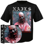 "NAILS - I Don't Want To Know You (7""+TS Bundle - XL)"
