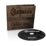 SABATON - The Great War HISTORY EDITION (Digipak)