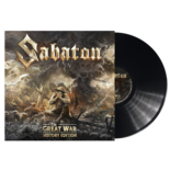 SABATON - The Great War HISTORY EDITION BLACK VINYL (Import)