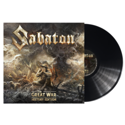 SABATON The Great War HISTORY EDITION BLACK VINYL (Import)
