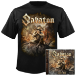 SABATON - The Great War CD+T-Shirt Bundle XL