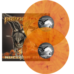 PRIMAL FEAR - Nuclear Fire MARBLED VINYL (Import)