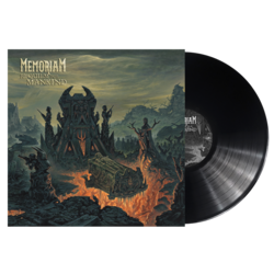 MEMORIAM Requiem For Mankind BLACK VINYL (Import)