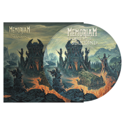 MEMORIAM Requiem For Mankind PICTURE VINYL (Import)