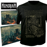 MEMORIAM - Requiem For Mankind (CD+TS Bundle) Medium