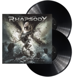 RHAPSODY, TURILLI / LIONE - Zero gravity (Rebirth and evolution) BLK LP (Imp)