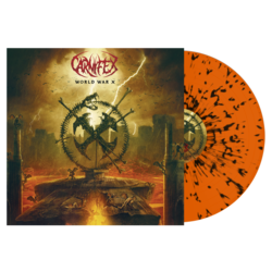 CARNIFEX - World War X (Orange w/Black Splatter Vinyl)
