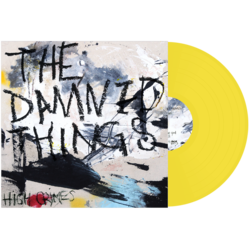 THE DAMNED THINGS - High Crimes (Yellow Vinyl)