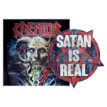 KREATOR - Satan Is Real/Gods Of Violence SHAPE (Import)