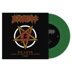 "EXODUS No Love (Live At Day In The Dirt 1984) GREEN 7""EP"