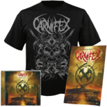 CARNIFEX - World War X CD+T-shirt bundle (Large)