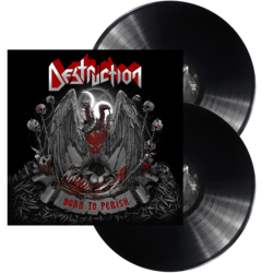 DESTRUCTION - Born To Perish BLACK VINYL (Import)