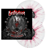 DESTRUCTION - Born To Perish WHITE/RED SPLATTER LP (EURO IMPORT)