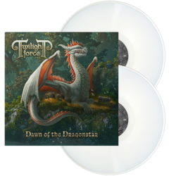 TWILIGHT FORCE - Dawn Of The Dragonstar WHITE VINYL (Import)