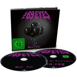 THE 69 EYES - West End CD+BLU-RAY (EURO IMPORT)