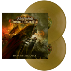 BLIND GUARDIAN'S TWILIGHT ORCHESTRA - Legacy of the dark lands GOLD VINYL (Import)