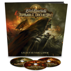 BLIND GUARDIAN'S TWILIGHT ORCHESTRA - Legacy Of The Dark Lands EARBOOK (Import)