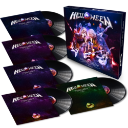 HELLOWEEN - United Alive In Madrid BLACK VINYL BOX (Import)