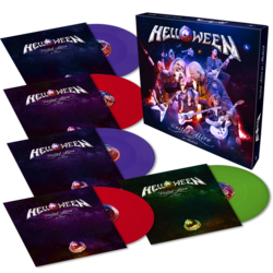 HELLOWEEN - United Alive... VIOLET/RED/GRN VINYL BOX (Import)