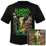 MUNICIPAL WASTE - The Last Rager (CD+Shirt Bundle) Medium