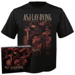 As I Lay Dying - Shaped By Fire CD+Shirt Bundle (Small)