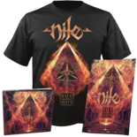 NILE - Vile Nilotic Rites (CD+Shirt) Medium