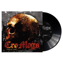 """CRO-MAGS - From The Grave BLACK 7"""" VINYL (Import)"""