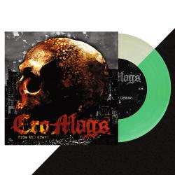 """CRO-MAGS - From The Grave GLOW IN THE DARK 7"""" (Import)"""