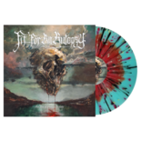 FIT FOR AN AUTOPSY - The Sea Of Tragic Beasts (Red in Blue+Splatter)
