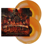 SLAYER - The Repentless...ORANGE/WHITE INK SPOT (Import)